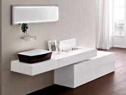 Baños con una estética moderna